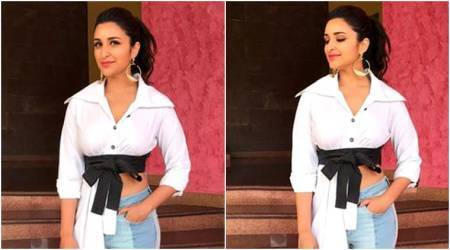 Parineeti Chopra's experimental white shirt fails to hit the right note