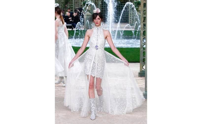 Paris Couture Fashion Week 2018, Paris Couture Fashion Week 2018 Chanel collection, Paris Couture Fashion Week 2018, latest haute couture designs, paris fahsion week, indian express, indian express news