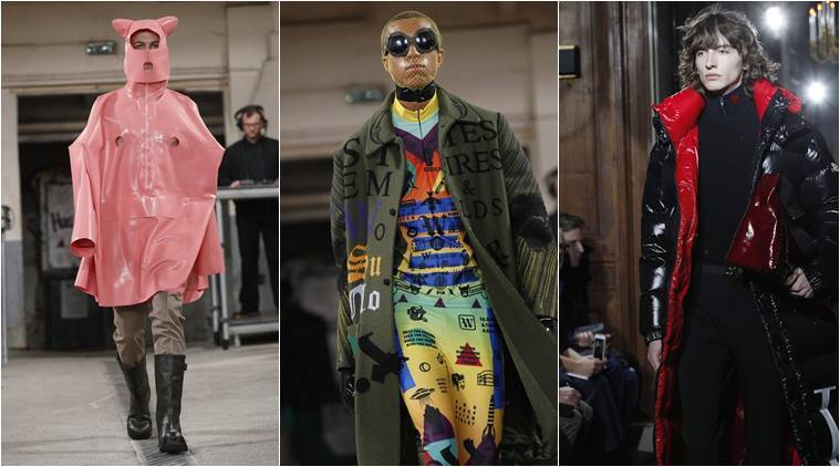 Paris Fashion Week Men S Fall Winter 2018 Here S A Look At The Highlights Lifestyle Gallery News The Indian Express