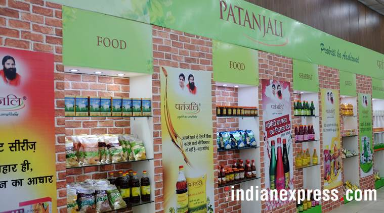 patanjali, baba ramdev, patanjali ayurved, patanjali online marketing, patanjali sales, fmcg, indian express