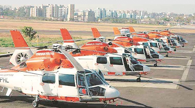 Pawan Hans, Chopper crashes, DGCA, Aviation, Pawan Hans crashes, Indian Express