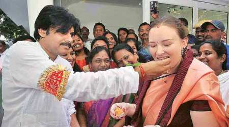 Actor Pawan Kalyan starts first political tour in Telangana