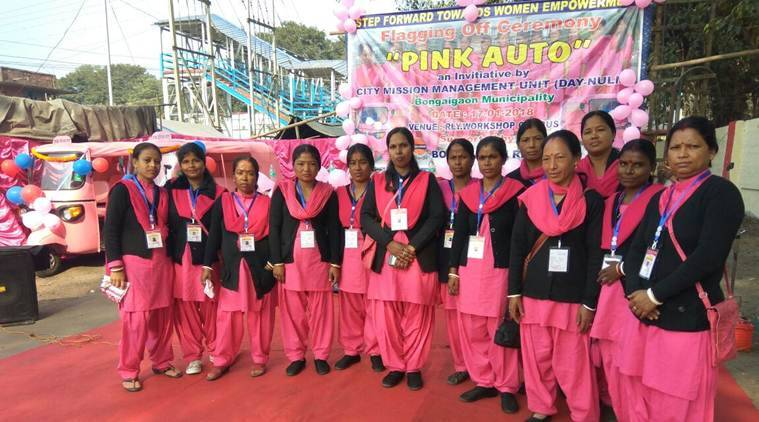Pink auto launched in Assam