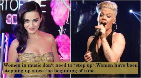Pink, Katy Perry, et al slam Grammys president for saying women need to 'step up'