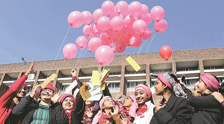 National girl child day, Pink Turban Campaign, Girl Child Day, Indian Express