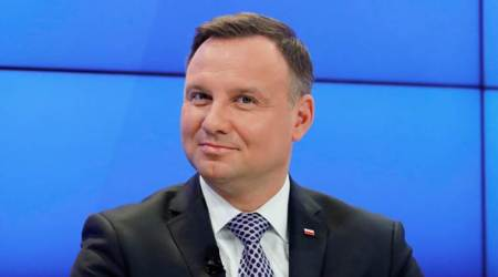 President Andrzej Duda says Poland did not take part in the Holocaust