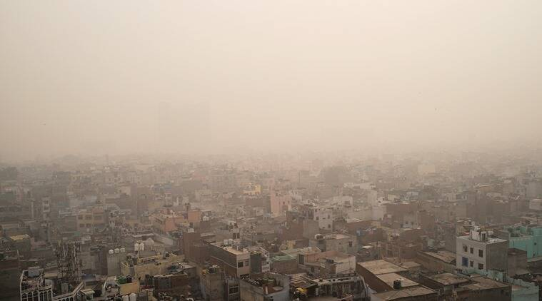 Delhi's air quality slips back to 'poor' category