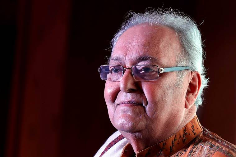 Soumitra Chatterjee honoured by French government