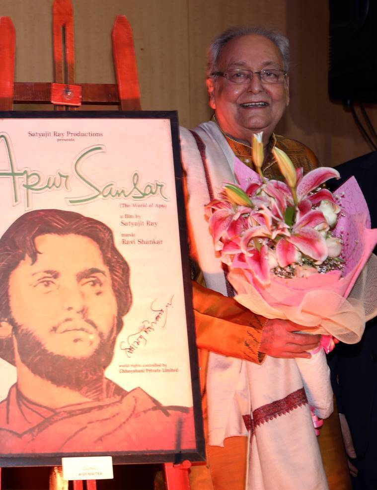 Soumitra Chatterjee french honour