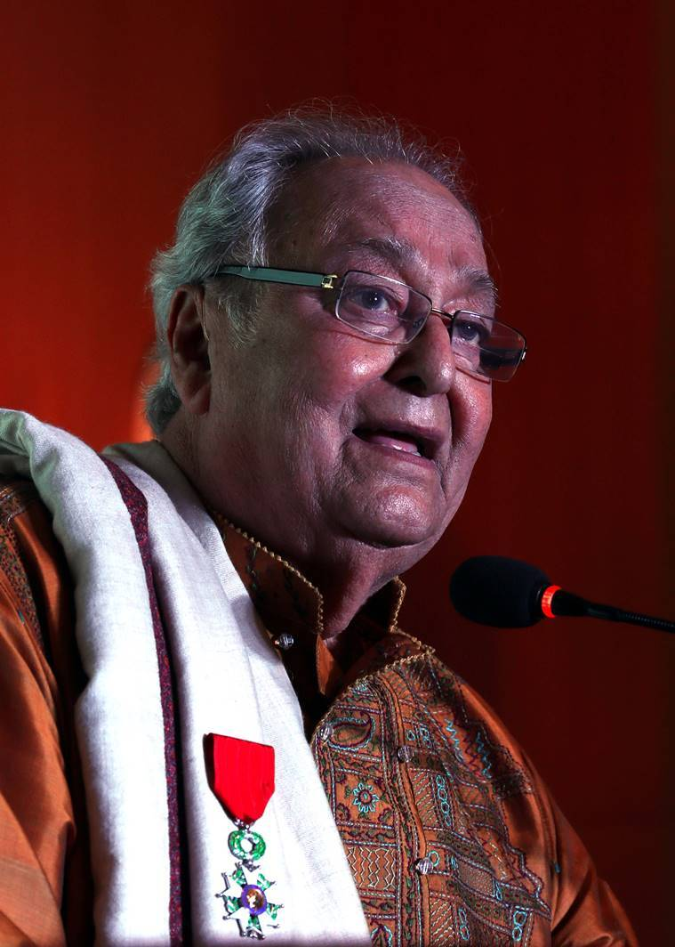 Soumitra Chatterjee French award