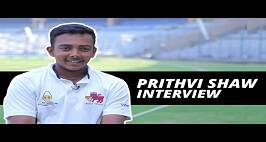 Prithvi Shaw Interview: When Your Mind Is Calm You Don't Have To Worry About Pace(Bowling)