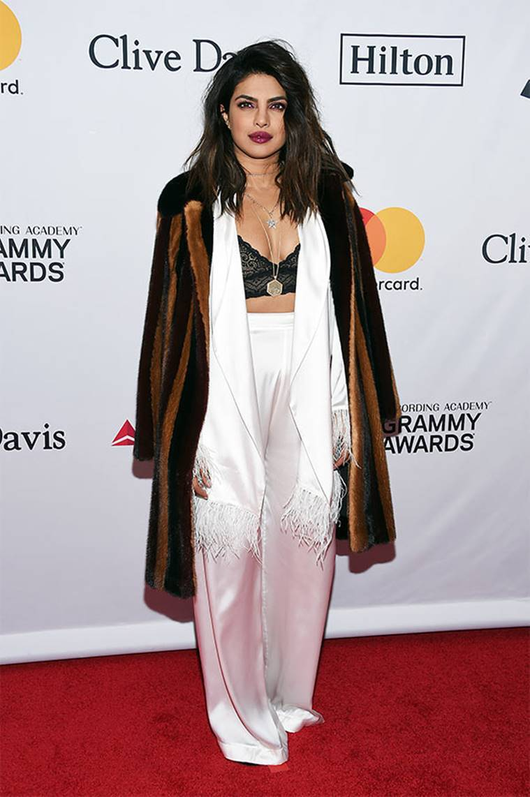 Priyanka Chopra, Priyanka Chopra latest photos, Priyanka Chopra fashion, Priyanka Chopra Pre-Grammy gala 2018, Priyanka Chopra latest movies