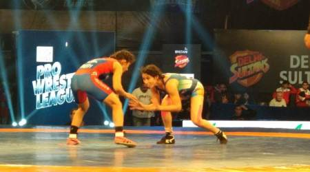Pro Wrestling League: UP Dangal inch close to knock out stage with 4-3 win over DelhiSultans