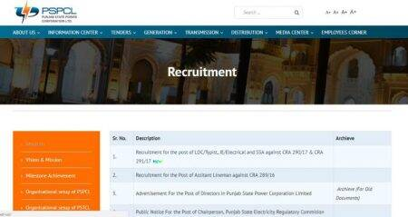 Work with PSPCL: 350 typist/LDC vacancies, four days left to apply