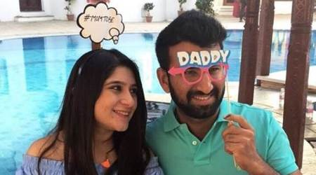 Cheteshwar Pujara, wife Puja Pabari are soon going to be parents