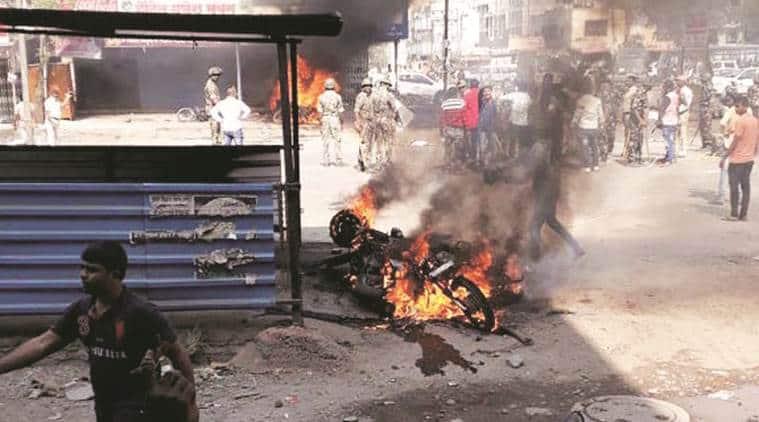 Bhima Koregaon violence, Dalit Maratha clashes, RSS, Dalit Protest, Mumbai Violence, Pune clashes, Maharashtra clashes, Maharashtra protest, What happened in Bhima Koregaon, Indian Express
