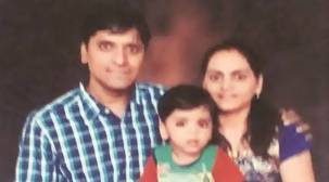 Pune techie, wife and four-year-old child found dead inside flat