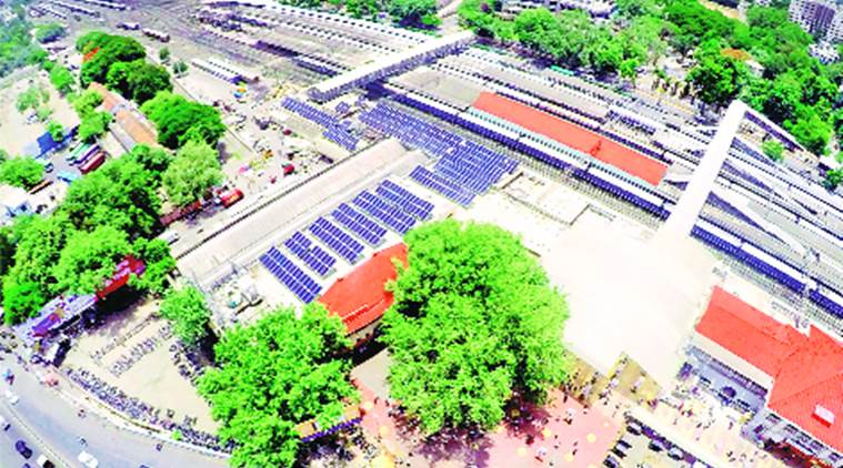Pune railway saves over a crore by using solar power