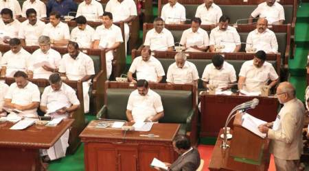 TN Assembly session begins; Claiming AIADMK is in minority, DMK, Congress MLAs stage walkout