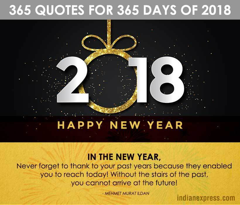 New Year, New Year 2018, New Year Quotes, Inspirational Quotes, New Year