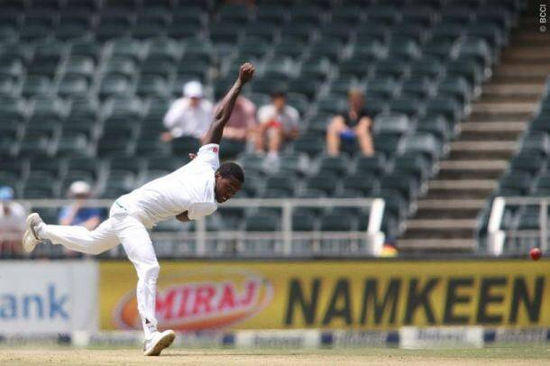 Kagiso Rabada gets three as South Africa restrict India in third Test