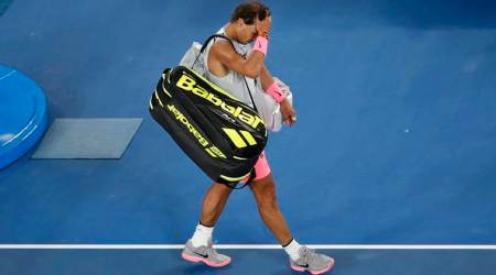 Rafa Nadal out for three weeks after Australian Open injury setback