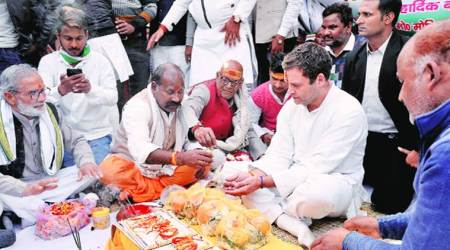 BJP makes you fight: Rahul at Amethi