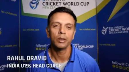 ICC U19 World Cup: Rahul Dravid has a message for Indian fans, watch video
