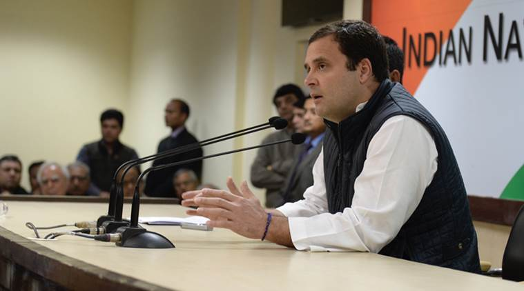 Rahul Gandhi, rahul gandhi on aadhaar, Aadhaar card, UID, BJP government, NDA government, compulsory Aadhaar linking, india news, indian express news