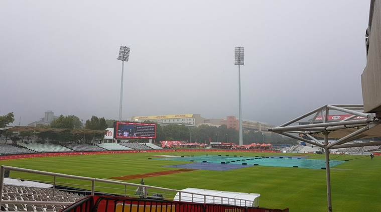 India are playing 1st Test in India against South Africa in Cape Town.