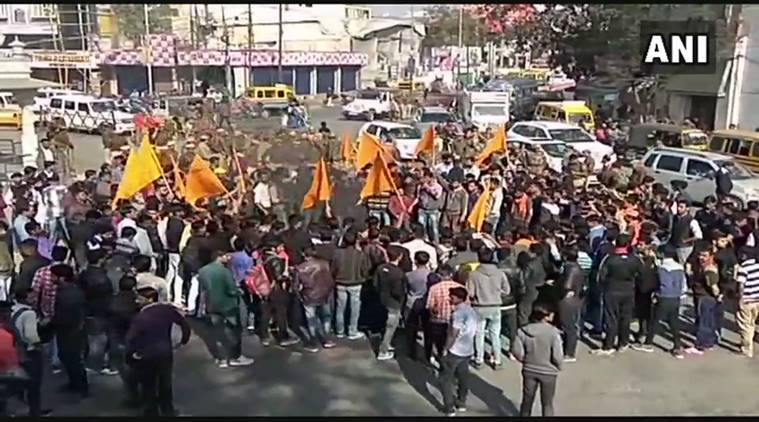 Padmaavat row, Padmavati, padmaavat protests, Rajput Karni Sena, Rajput protests, Rajasthan, Padmaavat release, india news, indian express news