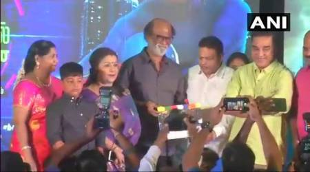 Rajinikanth, Kamal Haasan share dais amid political buzz in Tamil Nadu