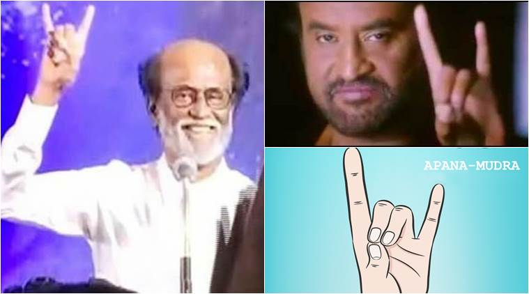 Is Rajinikanths Party Symbol The Same As Apana Mudra For