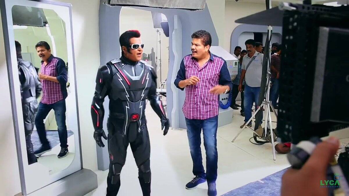 Rajinikanth 2.0 teaser