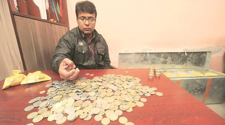 Faces on the fringes of news: 'Demonetisation, GST, now coins'