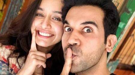Rajkummar Rao and Shraddha Kapoor announce work on their horror comedy through an adorable photo
