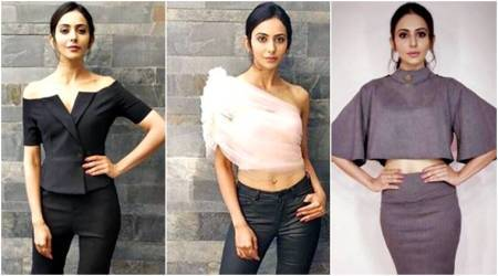 Aiyaary Promotions: Rakul Preet Singh ups the glam ante in powersuits and sheer