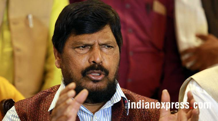 Ramdas Athawale, atrocities on Dalits