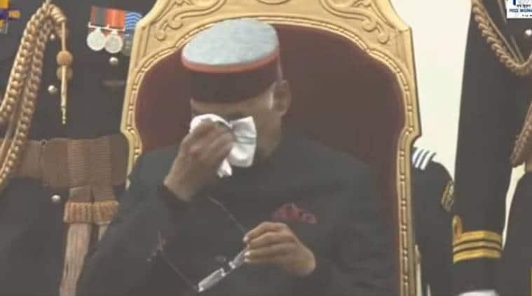 President Kovind turns emotional after honouring Garud commando at Republic Day Parade