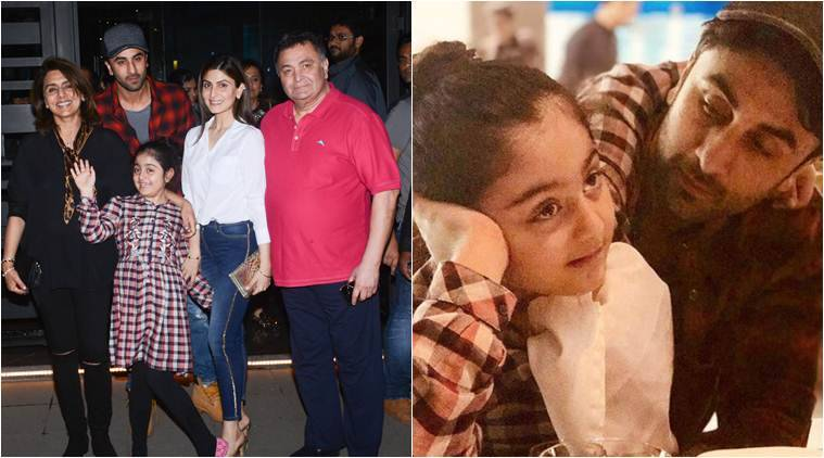 ranbir kapoor niece photos