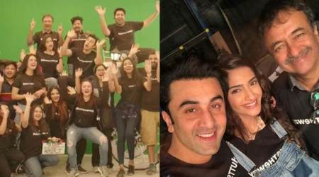 Ranbir Kapoor, Sonam Kapoor wrap up Sanjay Dutt biopic with a fun video 'Dutts The Way'