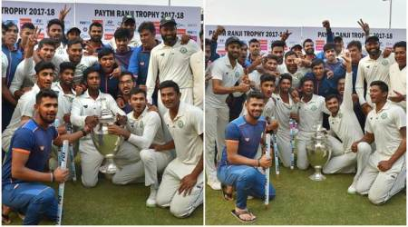 Ranji Trophy 2017, Ranji Trophy 2017 final, Vidarbha, Delhi, Vidarbha vs Delhi, sports gallery, cricket photos, Indian Express