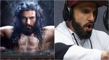 Ranveer Singh shares his physical transformation from Alauddin Khilji to Gully Boy and we are shocked, see photo