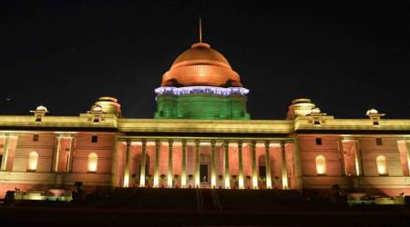 President inaugurates dynamic facade lighting of Rashtrapati Bhavan