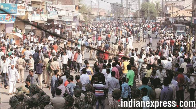 Day after Koregaon-Bhima clashes, Dalits protest in Mumbai