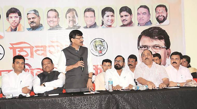 shiv sena bjp split, sanjay raut, devendra fadnavis, shiv sena bjp, Pimpri-Chinchwad meeting, Uddhav Thackeray, indian express, maharashtra politics