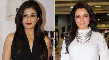 Raveena Tandon or Tisca Chopra: Who wore the yellow Rajat Tangri pantsuit better?