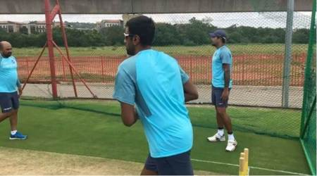 India vs South Africa: R Ashwin works on a new delivery in the nets, watch video