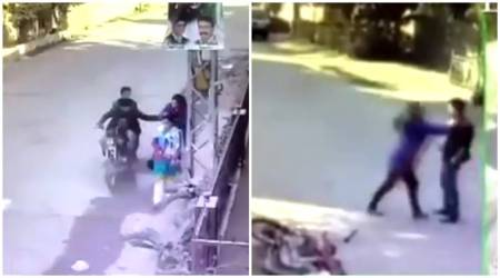 WATCH: Pakistani woman BEATS bike-robbers who tried to snatch her purse