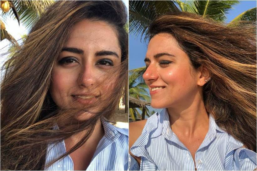 photos of ridhi dogra from new year celebrations in sri lanka
